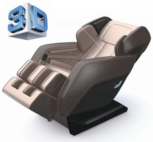 IndulgePMC3386L-3D-Massage Chair